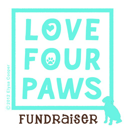 Love Four Paws Logo